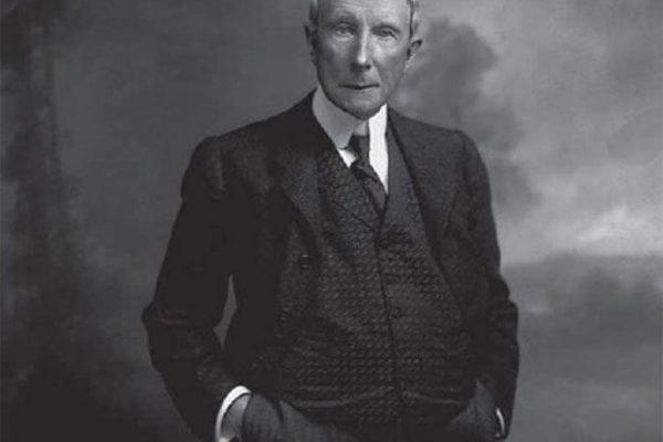 جان دیویسون راکفلر تاجر نفت و یکی از ثروتمندترین مردان جهان