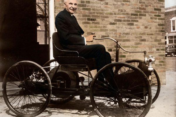 هنری فورد یکی از بزرگ ترین کارآفرینان در صنعت خودروسازی