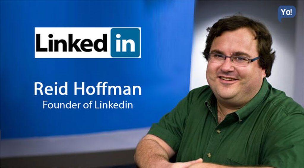رید هافمن کارآفرین و سرمایه گذار موفق در حوزه دیجیتال