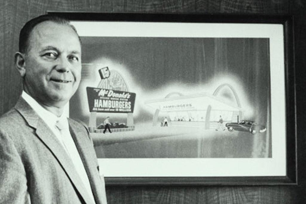 ری کراک مدیر مک دونالد و کارآفرین آمریکایی