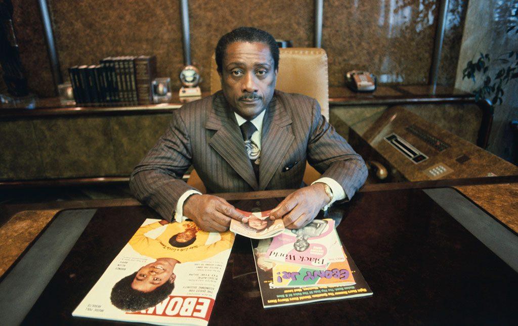 جان جانسون کارآفرین و ناشر آفریقایی تبار