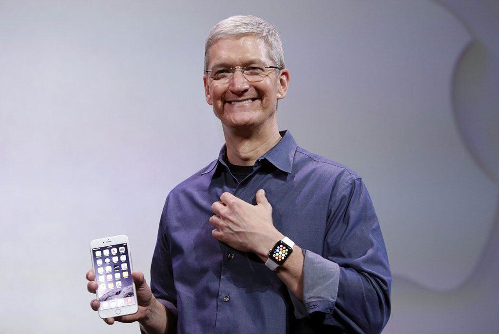 تیم کوک مدیرعامل اپل و جانشین استیو جابز